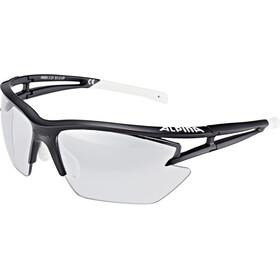 Alpina Eye-5 HR S VL+ Lunettes, matt black-white